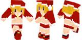 【Minecraft】サンタ【イメージ】
