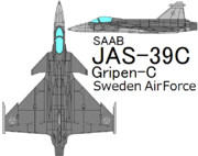 JAS-39C GRIPEN Sweden Air Force