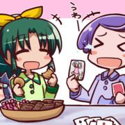 クッキーを食べるなおちゃん