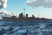 【モデル配布】改白露型駆逐艦 海風1941