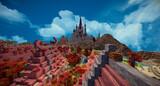 【Minecraft】魔法の街 途中経過5