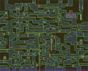 【改造マリオWii】ある迷路ステージのマップ
