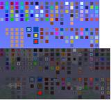 テラリア1.2.1.2 時点のブロック(内壁なし)