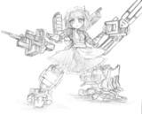 重武装ロボ子