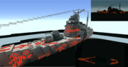 【完成】重巡洋艦高雄をアルペジオのタカオ風にしてみた