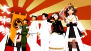 【MMD】日本隊  - 大和魂