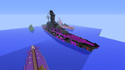 【Minecraft】東洋方面第一巡航艦隊旗艦解任【蒼き鋼のアルペジオ】