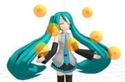 【MMDモデル配布あり】7つの龍の玉【ギャルの◯◯ティーおーくれー!】