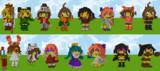 【Minecraft】キャラクターつくつく【Halloween】