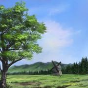 広葉樹のための習作2