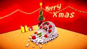【Minecraft】クリスマスケーキ