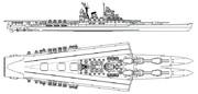 【自作兵器】双胴航空巡洋戦艦「赤城」