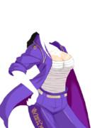 姉御肌拓海特攻服描いてみた。