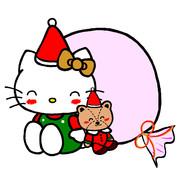 サンタキティとタイニーチャム ~にっこり笑顔~