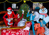 """【ルパン三世イラスト】""""〜クリスマスは特別に〜"""""""