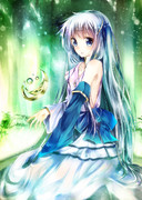 C85新刊表紙「夢幻少女境域 vol.2 evergreen」