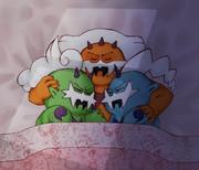 おやすみ、いたずらはまたあした。