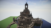 【minecraft】作り始めて2ヶ月のお城【建築部】
