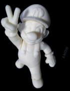 自作マリオ 3Dプリント製