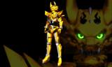 黄金騎士牙狼モデル配布します。