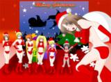 クリスマスイラスト2012
