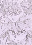 """""""キルラキル""""第12話より、皐月様と流子。"""