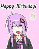 ゆかりさん誕生日