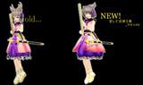 【東方MMD】神子様モデル新旧比較
