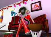 【シム東方】クリスマスめっちゃ妬ましいわー【sims3】