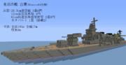 重巡洋艦 古鷹 を作ってみました
