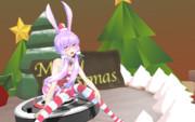 クリスマスだよゆかりん【MMDモデル配布】