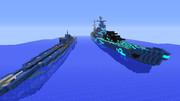 【MineCraft】蒼き艦隊~イ401&タカオ~【配布終了】