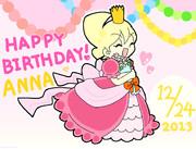 アンナちゃんお誕生日おめでとう!