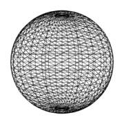回転する球