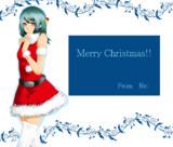 クリスマスカード的な。