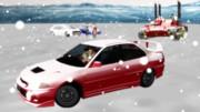 提督  チーム一航戦  雪山にドライブ行ってきます。