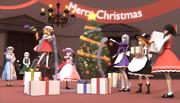 紅魔館でクリスマスパーティー