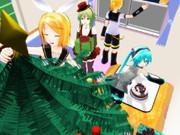 クリスマスパーティー、準備