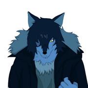 狼男の模写!