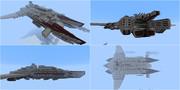 【Minecraft】空中戦艦Ⅱの紹介