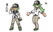 【ポケモントレーナー】 第5世代 主人公 【Nカラー】