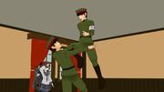憲兵C逮捕想像図