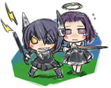天龍と龍田