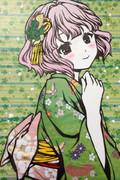 夏色キセキ 凛子の切り絵