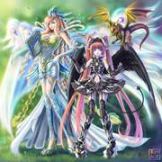 天使先生と悪魔っ子