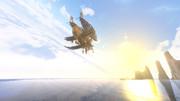 飛行船の旅路 -朝日に向かって-