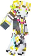 【Minecraft】ダーインスレイヴ スキン【革命機ヴァルヴレイヴ】