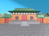 中国ステージ(少林寺風)