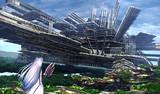 巨大な廃城