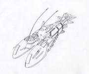 宇宙空母「ロブスター・改」